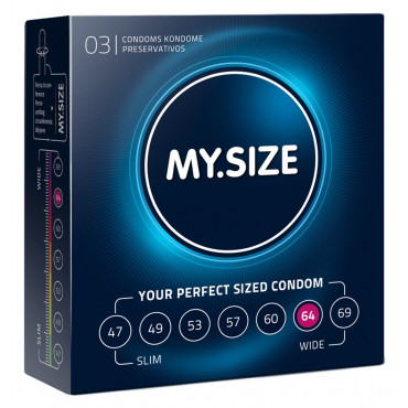 MY.SIZE 64 mm 3er