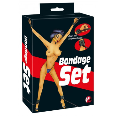 "Fessel-Set ""Bondage"""
