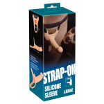Silicone Strap-on +6 cm large