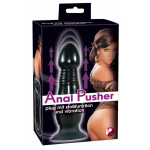 Anal Pusher Plug m. Vibration