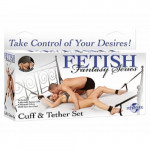 Fetish Fantasy Cuff & Tether Set