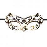 EasyToys - Durchbrochene Maske aus Metall in Gold