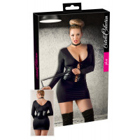 Wetlook Kleid-Set inkl. Peitsche