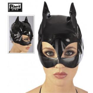 Lack Cat-Mask schwarz S-L