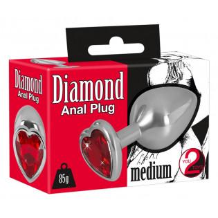Diamond Anal Plug medium