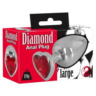 Diamond Anal Plug large