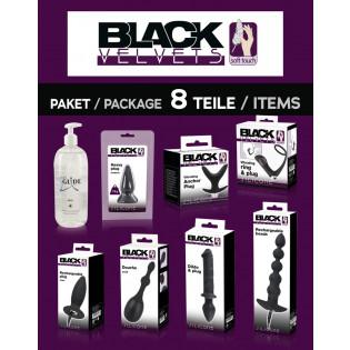 """Black Velvets""-Paket: 8 Teile -> 1 Preis"