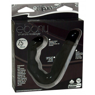 Ebony Prostate Massager