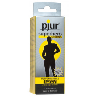 pjur superhero strong spray 20