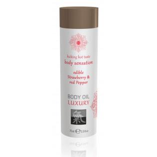Body Oil Edible Erdbeere/Pfeffer