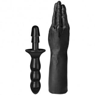 TitanMen - Fisting-Hand mit Vac-U-Lock-kompatiblen Handgriff