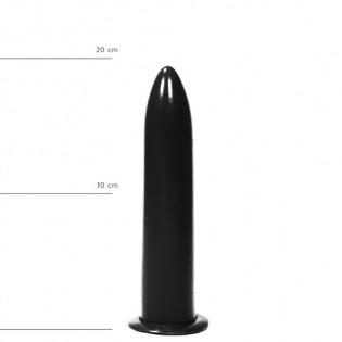 Dildo 20 cm in Schwarz
