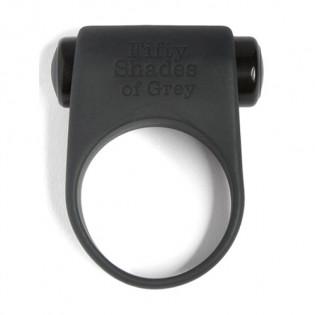 Penisring aus Silikon - 50 Shades of Grey