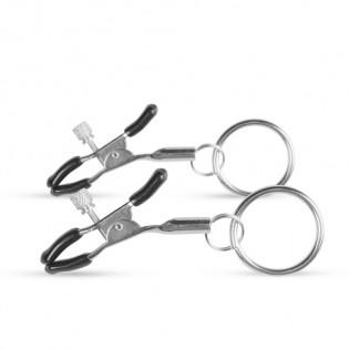 Metall Nippelklammern mit Ring