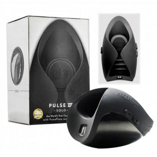 Penisvibrator »Pulse III Solo«, 6 Vibrationsmodi, dunkelgrau
