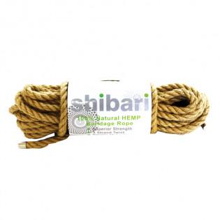 Shibari Bondageseil aus Hanf - 10 Meter