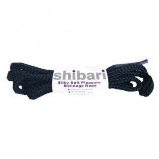 Shibari seidiges Bondageseil aus Hanf - 5 Meter